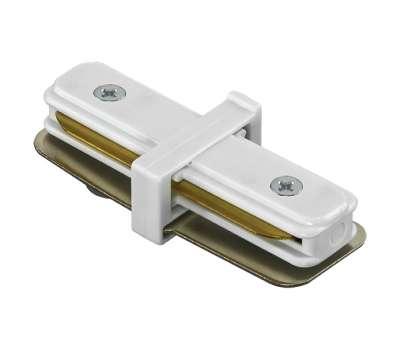 Соединитель трековый однофазный малый прямой Lightstar BARRA 502106 от Lightstar в магазине декоративного освещения Питерский свет