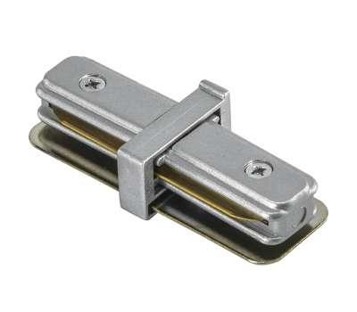 Соединитель трековый однофазный малый прямой Lightstar BARRA 502109