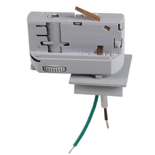Трековое крепление Lightstar ASTA 594029 с 3-фазным адаптером к 05102x/05103x