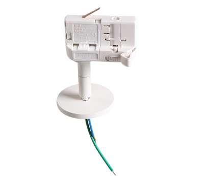 Трековое крепление Lightstar ASTA 594056 с 3-фазным адаптером к 21443х/21448x/21449x