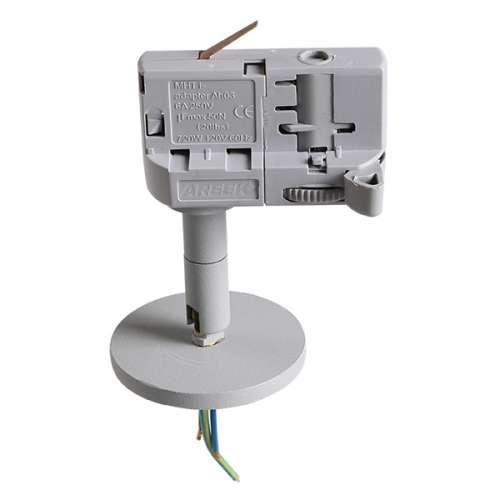 Трековое крепление Lightstar ASTA 594059 с 3-фазным адаптером к 21443х/21448x/21449x