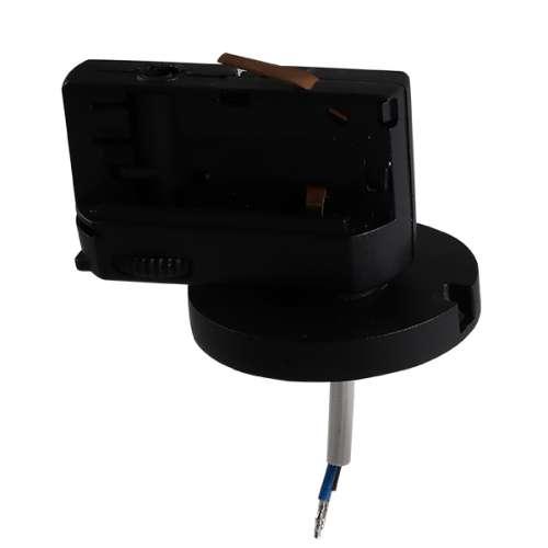 Трековое крепление Lightstar ASTA 594077 с 3-фазным адаптером к 05104x