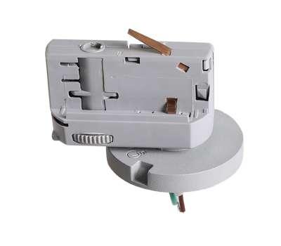 Трековое крепление Lightstar ASTA 594079 с 3-фазным адаптером к 05104x