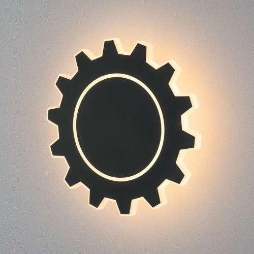 Настенный светодиодный светильник Gear L LED черный Elektrostandard GEAR MRL LED 1100