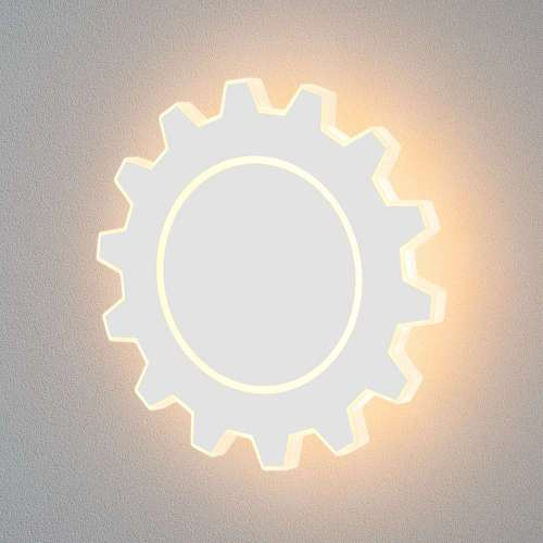 Gear L LED белый Настенный светодиодный светильник MRL LED 1100 Elektrostandard