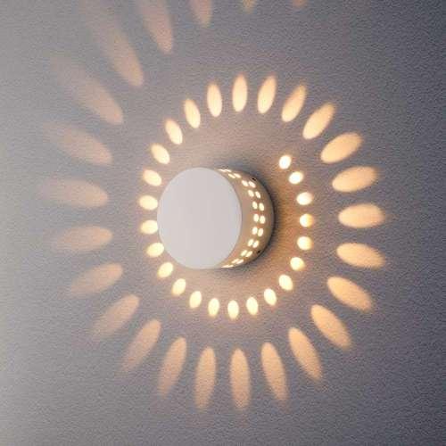 Arkada белый уличный настенный светодиодный светильник 1585 TECHNO LED Elektrostandard