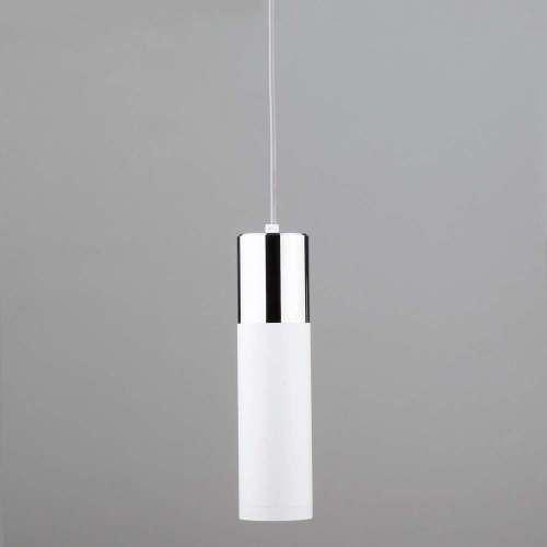Подвесной светильник Elektrostandard DOUBLE TOPPER 50135/1 LED хром/белый 12W