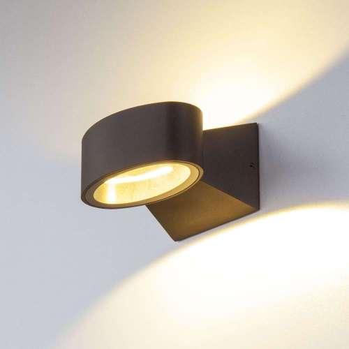 Blinc белый уличный настенный светодиодный светильник 1549 TECHNO LED Elektrostandard