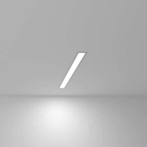 Линейный светодиодный встраиваемый светильник 53см 10Вт 6500К матовое серебро 101-300-53 Elektrostandard