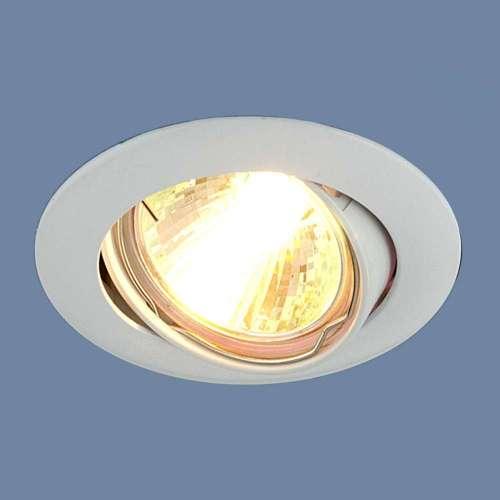 Точечный светильник                      104S MR16 WH белый Elektrostandard