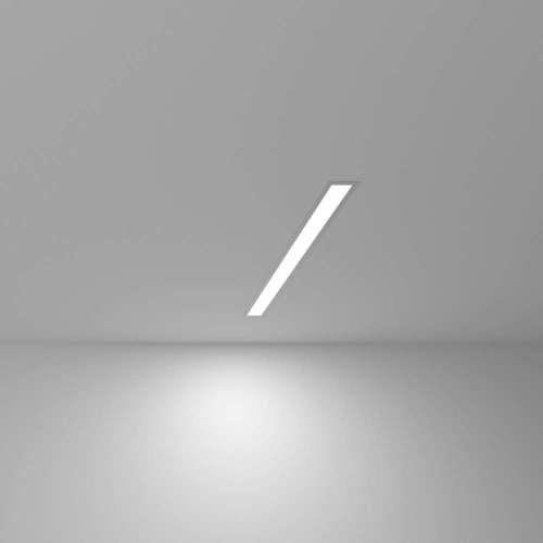 Линейный светодиодный встраиваемый светильник 53см 10Вт 6500К матовое серебро 100-300-53 Elektrostandard