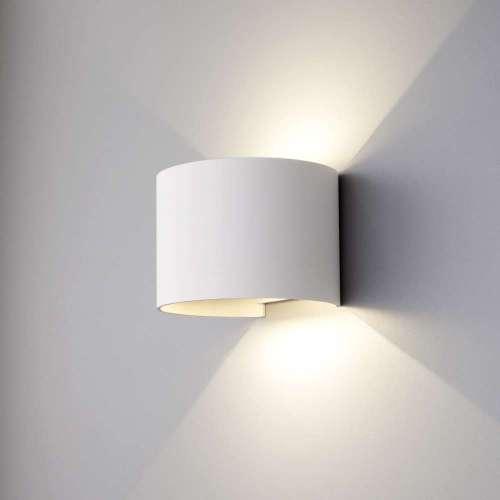 Blade белый уличный настенный светодиодный светильник 1518 TECHNO LED Elektrostandard
