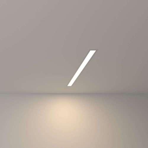 Линейный светодиодный встраиваемый светильник 53см 10Вт 4200К матовое серебро 100-300-53 Elektrostandard