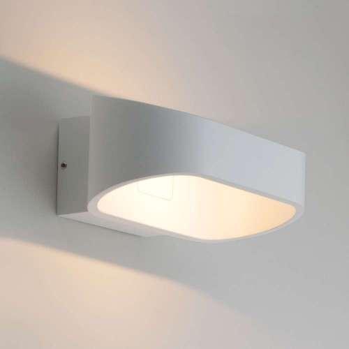 Point белый уличный настенный светодиодный светильник 1706 TECHNO LED Elektrostandard