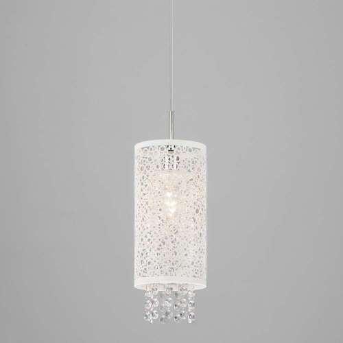 Подвесной светильник с хрусталем 1181/1 хром Eurosvet