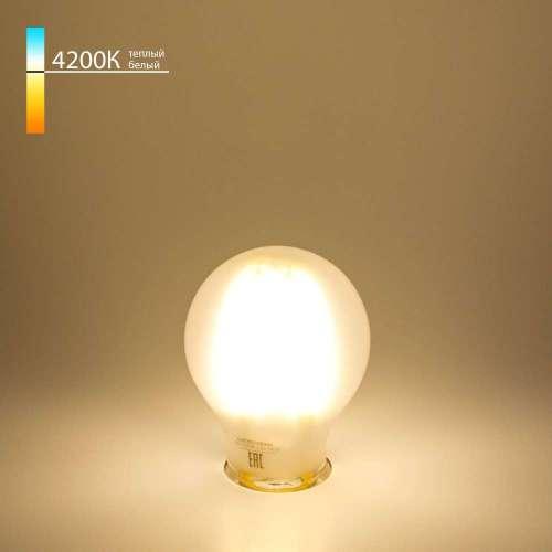 Филаментная светодиодная лампа A60 8W 4200K E27 Classic F 8W 4200K E27 Elektrostandard