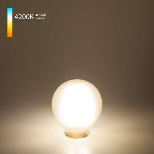 Филаментная светодиодная лампа G45 6W 4200K E14 Classic F 6W 4200K E14 Elektrostandard