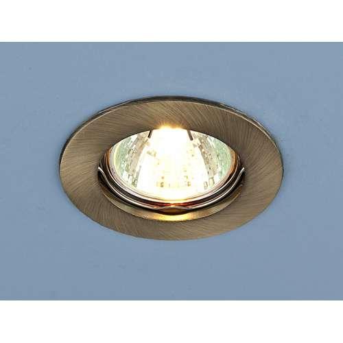 Точечный светильник                      863 MR16 SB бронза Elektrostandard