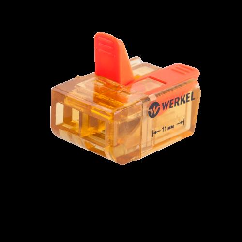 Клемма универсальная соединительная 2-проводная (5шт.) TR-02-02 Werkel