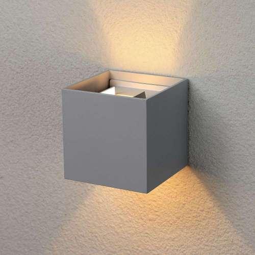 Winner серый уличный настенный светодиодный светильник 1548 TECHNO LED Elektrostandard