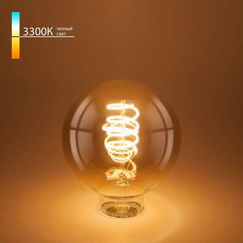 Филаментная светодиодная лампа G95 8W 3300K E27 BLE2709 Elektrostandard