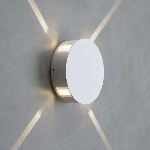 Beam белый уличный настенный светодиодный светильник 1545 TECHNO LED Elektrostandard