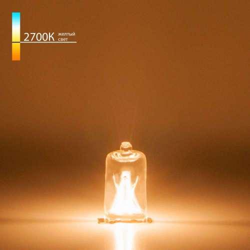 Лампа галогенная G9 220В 40Вт прозрачная Elektrostandard