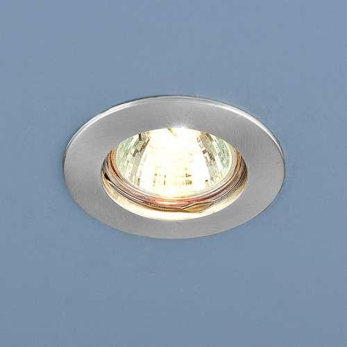Точечный светильник                      863 MR16 SCH хром сатинированный Elektrostandard