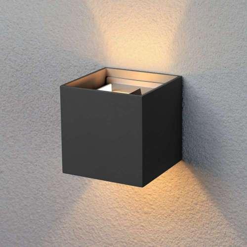 Winner черный уличный настенный светодиодный светильник 1548 TECHNO LED Elektrostandard