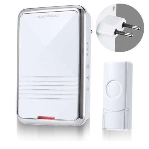 Звонок беспроводной AC 36M IP44 Белый DBQ11M Elektrostandard