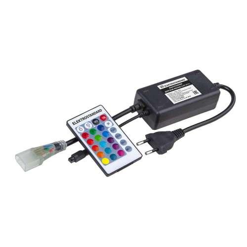 Контроллер для гибкого неона RGB LS001 220V 5050 с ПДУ (ИК) IP20 LSC 011 Elektrostandard
