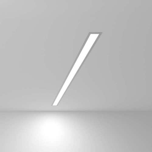 Линейный светодиодный встраиваемый светильник 103см 20Вт 6500К матовое серебро 101-300-103 Elektrostandard