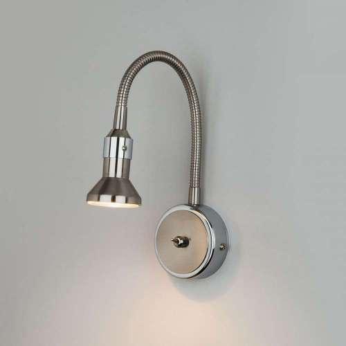 Подсветка галогенная Plica 1215 сатинированный никель / хром Elektrostandard
