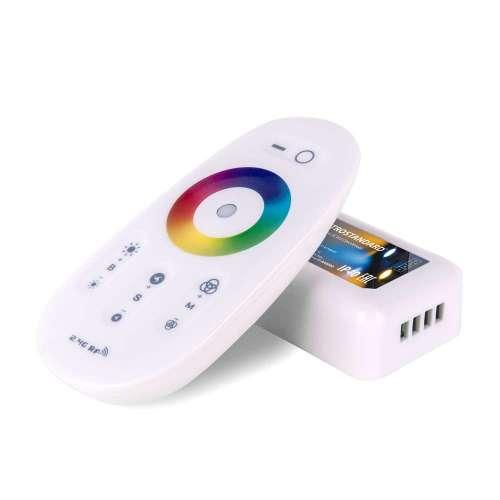 Сенсорный контроллер для светодиодной ленты RGB с ПДУ 12V (радио) IP40 LSC 010 Elektrostandard