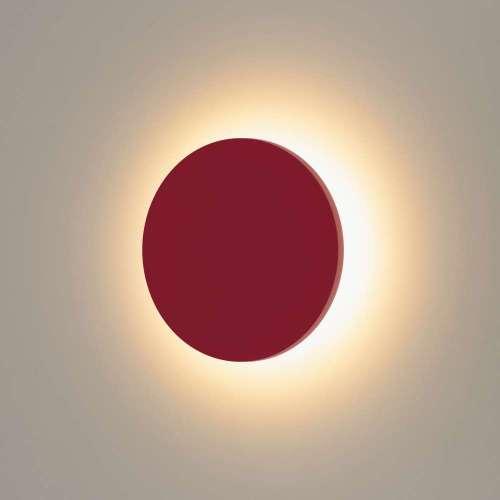 Concept S красный уличный настенный светодиодный светильник 1660 TECHNO LED Elektrostandard