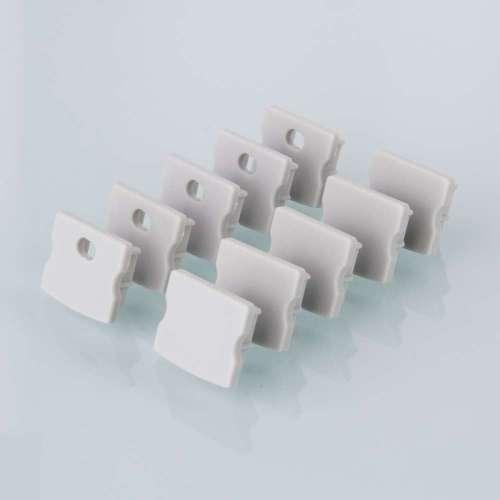 Комплект заглушек для накладного алюминиевого профиля светодиодной ленты (10 пар) ZLL-2-ALP001-R Elektrostandard