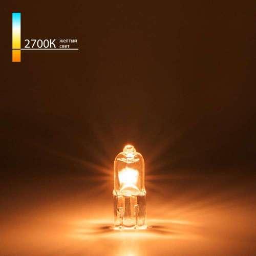 Лампа галогенная G4 12В 10Вт Elektrostandard