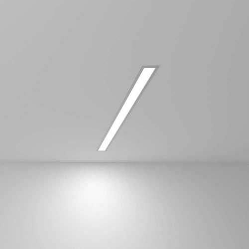 Линейный светодиодный встраиваемый светильник 78см 15Вт 6500К матовое серебро 101-300-78 Elektrostandard