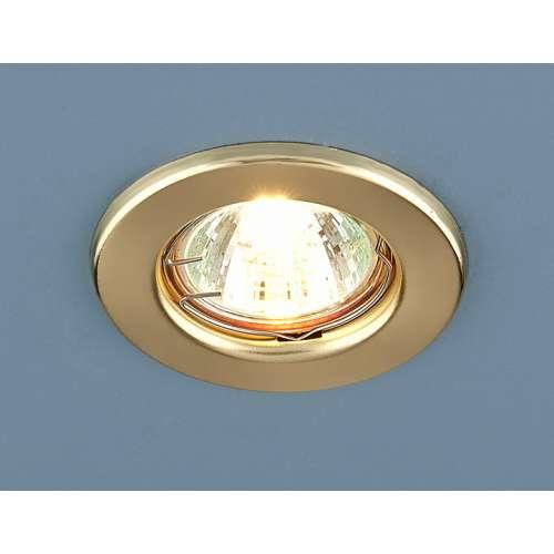 Точечный светильник                      9210 MR16 GD золото Elektrostandard