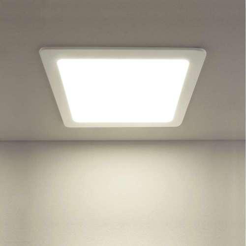 Встраиваемый потолочный светодиодный светильник DLS003 18W 4200K Elektrostandard