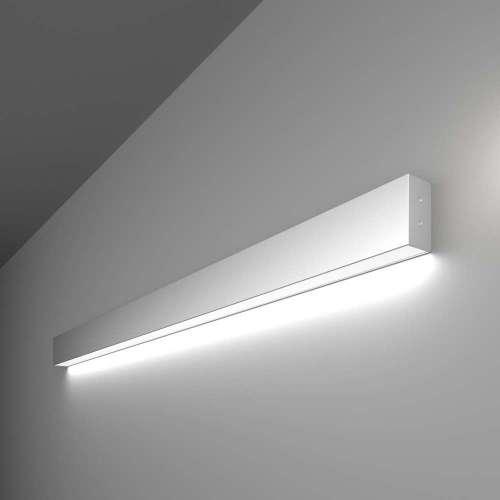 Линейный светодиодный накладной односторонний светильник 103см 20Вт 6500К матовое серебро 100-100-30-103 Elektrostandard