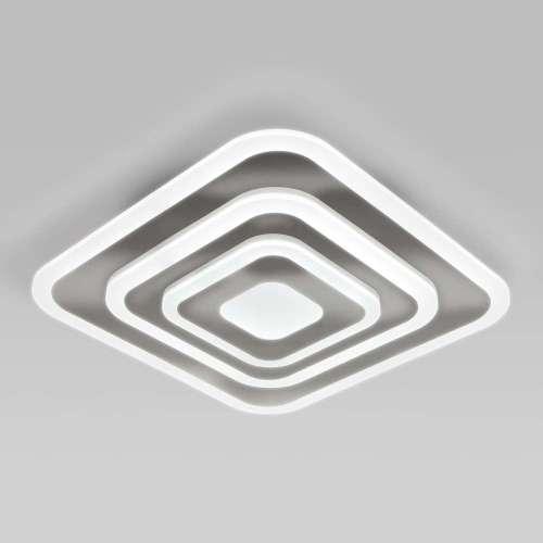 Потолочный светодиодный светильник с пультом управления 90118/1 хром Eurosvet