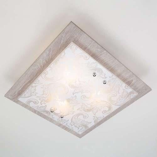 Настенно-потолочный светильник 2961/3 хром/серый Eurosvet