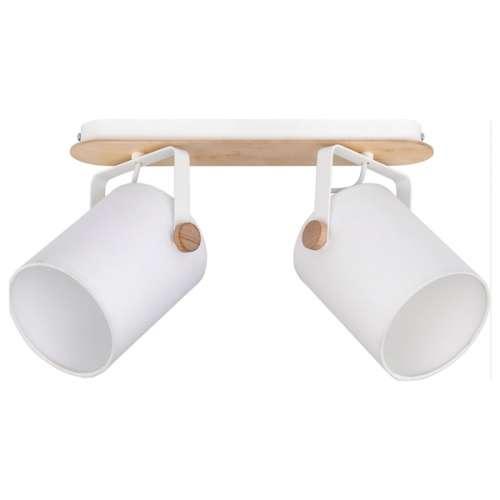 Настенно-потолочный светильник с белыми поворотными абажурами 1612 Relax White TK Lighting