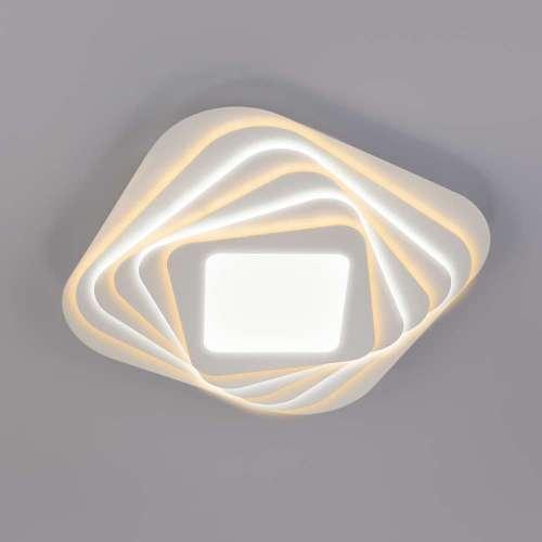 Светодиодный потолочный светильник с пультом управления 90154/6 белый Eurosvet