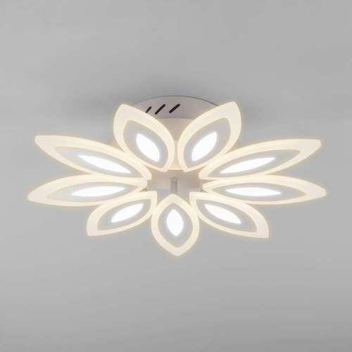Потолочный светодиодный светильник с пультом управления 90158/9 белый Eurosvet
