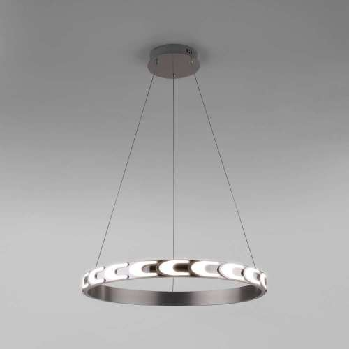 Подвесной светодиодный светильник с пультом управления 90164/1 сатин-никель Eurosvet