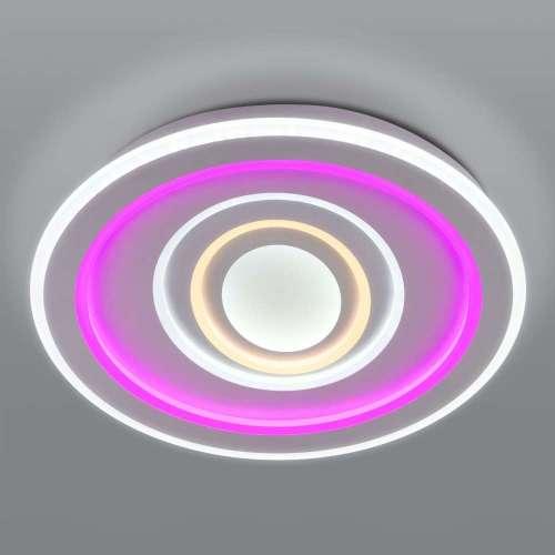 Потолочный светодиодный светильник с пультом управления 90214/1 Eurosvet