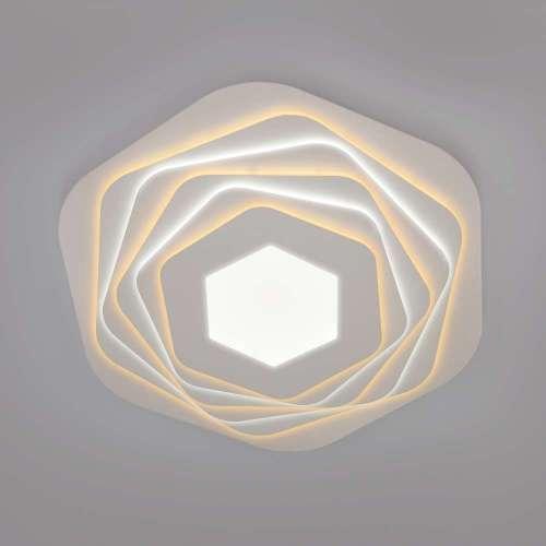 Светодиодный потолочный светильник с пультом управления 90152/6 белый Eurosvet