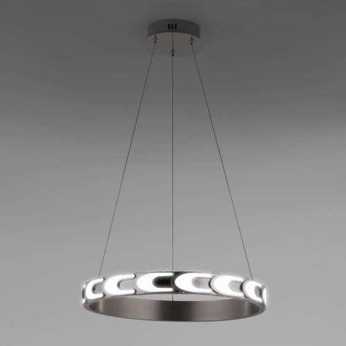 Подвесной светодиодный светильник с пультом управления 90163/1 сатин-никель Eurosvet